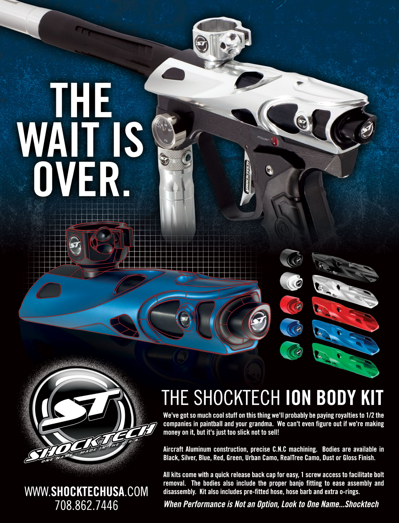 shocktech magazine advertisement